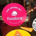 Faul? Wir liefern mit Foodora.DE.