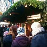 Unser jährlich Ständsche a.d. Sachsenhäuser Weihnachtsmarkt am Goetheturm.